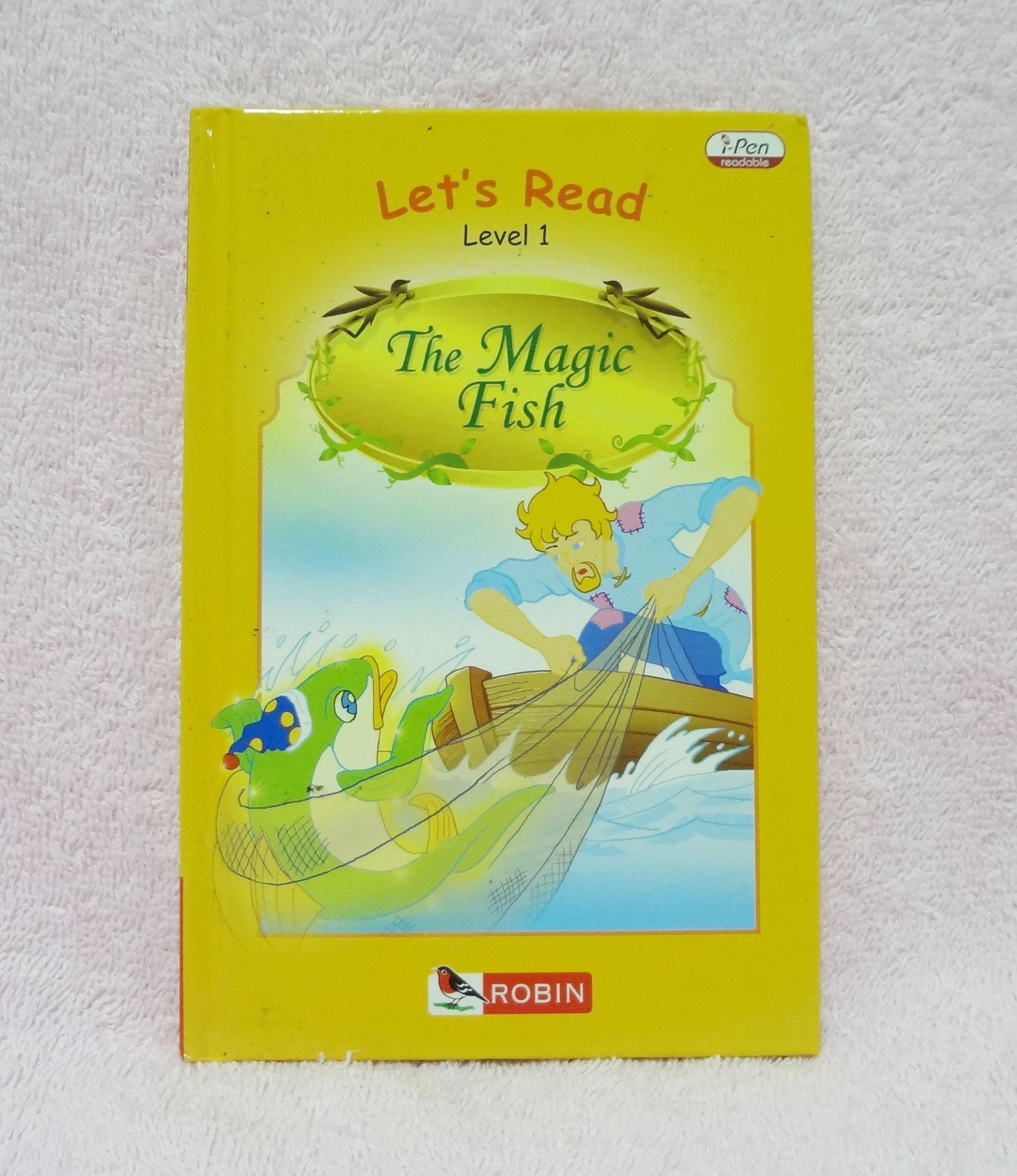 หนังสือนิทานเรื่อง The Magic Fish ของ Robin