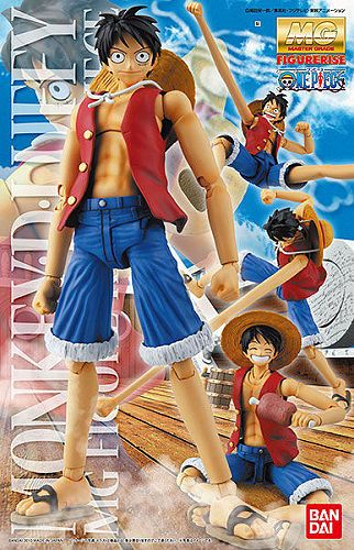 MG Figure-Rise 1/8 Monkey D Luffy
