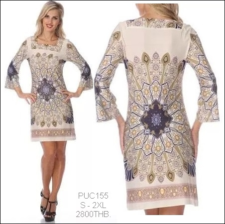 PUC155 Preorder / EMILIO PUCCI DRESS STYLE