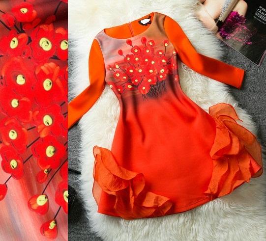 D570135   / S M L  / 2014 @ _ @  RUNWAY & MODEL FASHION  DRESS STYLE