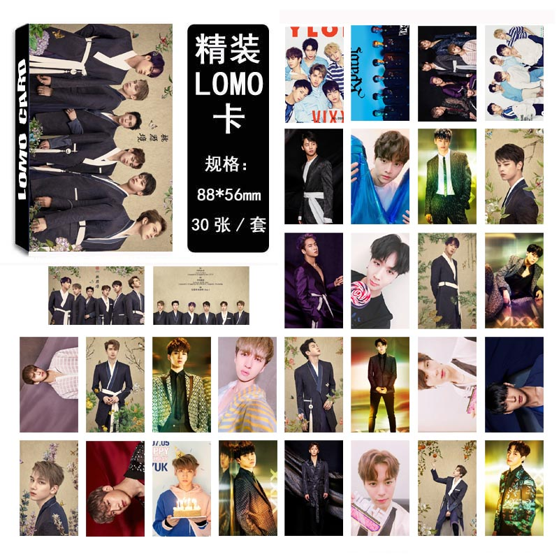 Lomo card set VIXX 4th (30pc)