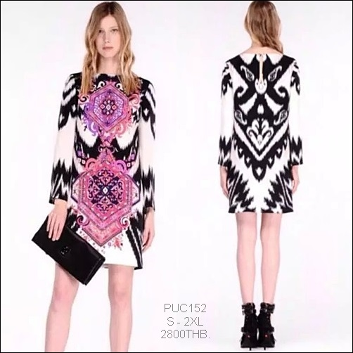 PUC152 Preorder / EMILIO PUCCI DRESS STYLE
