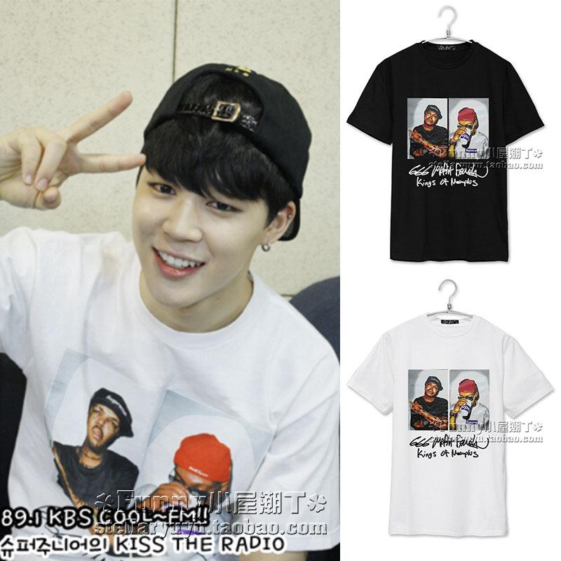 เสื้อยืด Supreme King Sty.JIMIN BTS -ระบุสี/ไซต์-