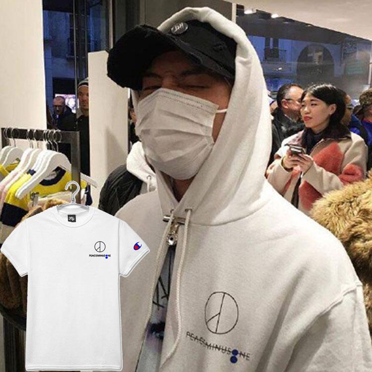 เสื้อยืด PEACEMINUSONE LOGO Sty.G-Dragon -ระบุสี/ไซต์-
