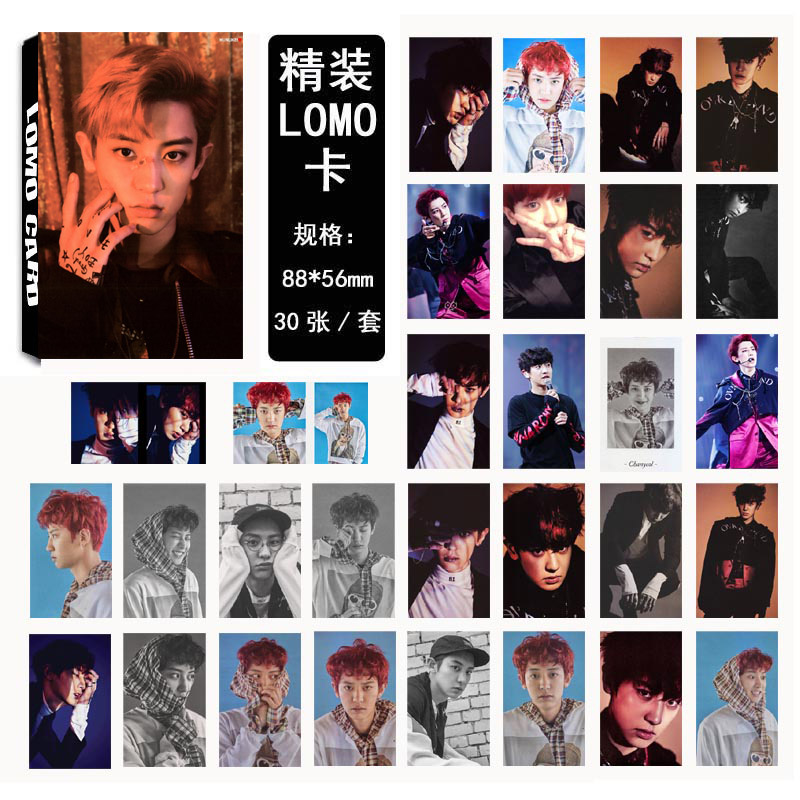 Lomo card set EXO EX'ACT - Chanyeol (30pc)