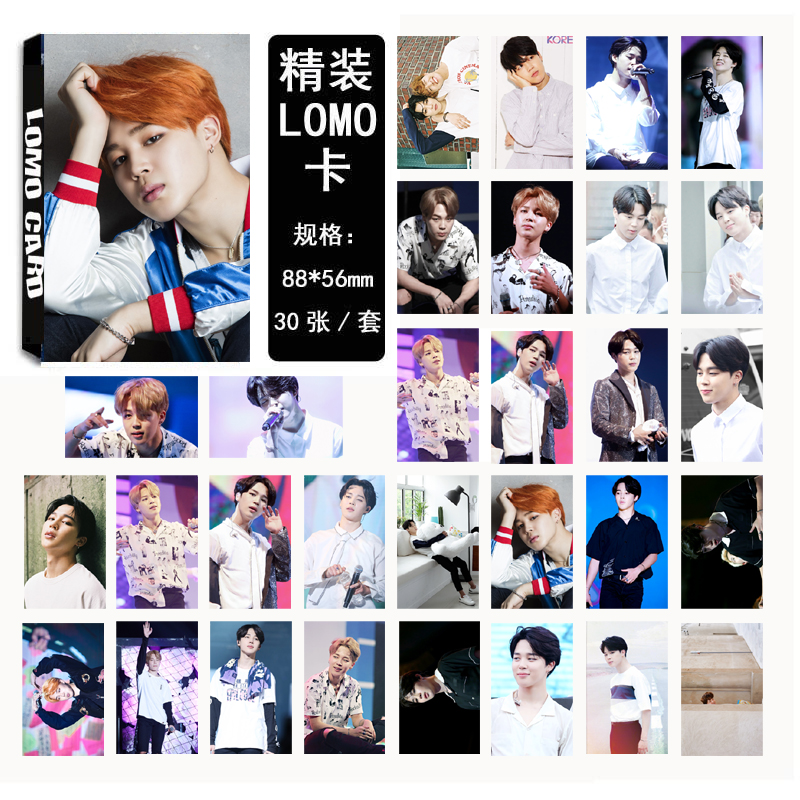 Lomo card set 02 BTS - JIMIN (30pc)