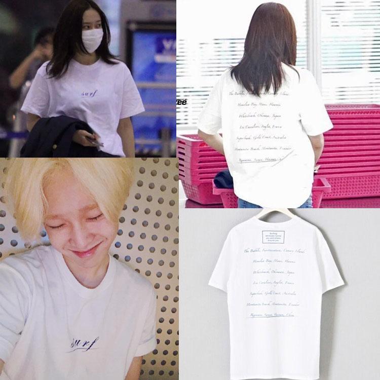 เสื้อยืด Surf Sty.Taehyun winner -ระบุไซต์-