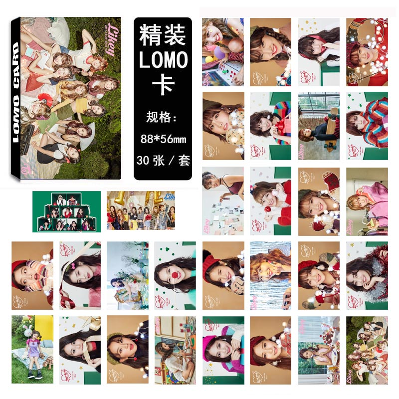Lomo card set TWICE LIKEY(30pc)