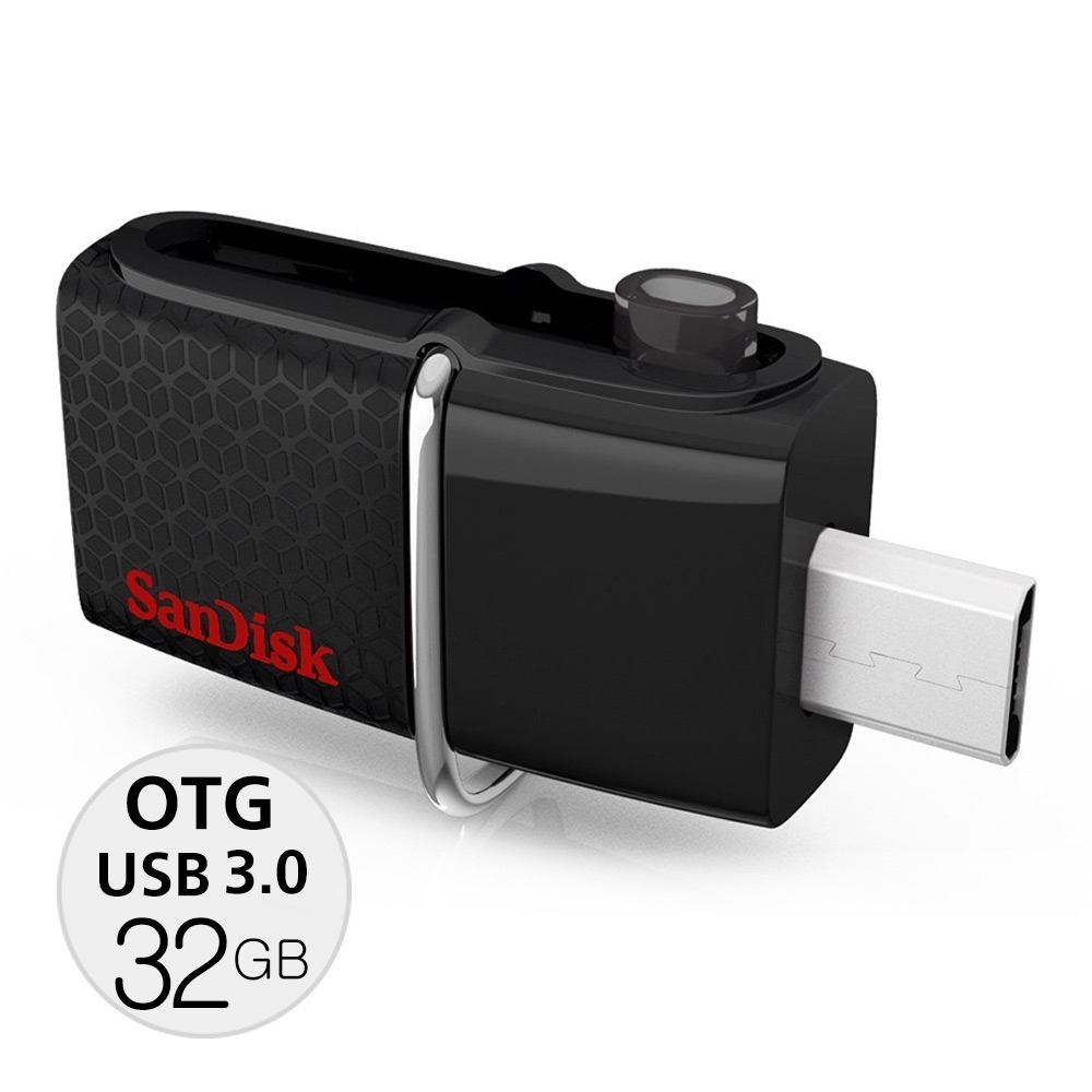 Sandisk Ultra Dual USB 3.0 OTG 32GB speed130MB/Sec แท้