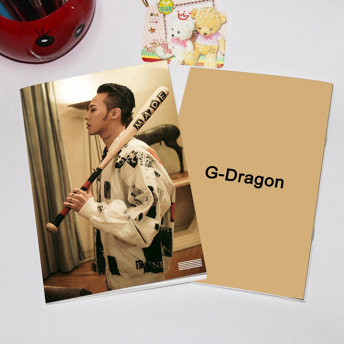 สมุด BIGBANG MADE G-DRAGON