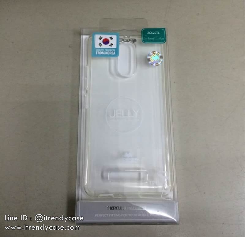 ZenFone 3 Max - เคสใส TPU Mercury Jelly Case แท้
