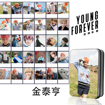 LOMO BOX SET BTS Young Forever - V (30pc)