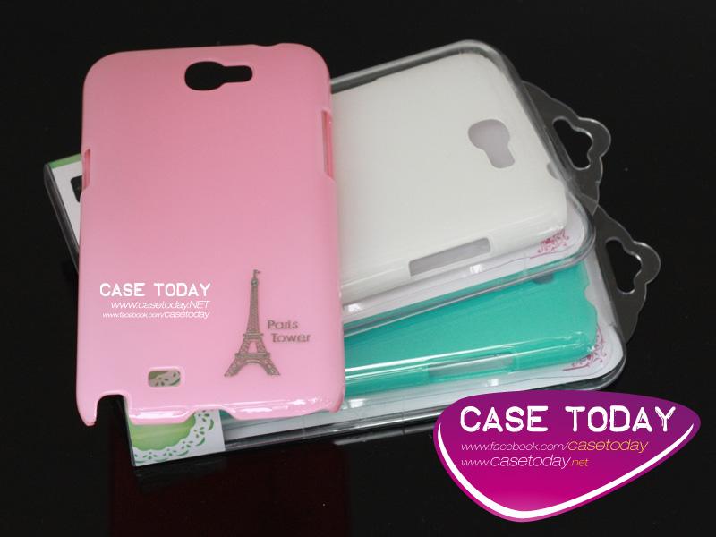 เคส Note 2 Hard Case พลาสติกแบบเงา