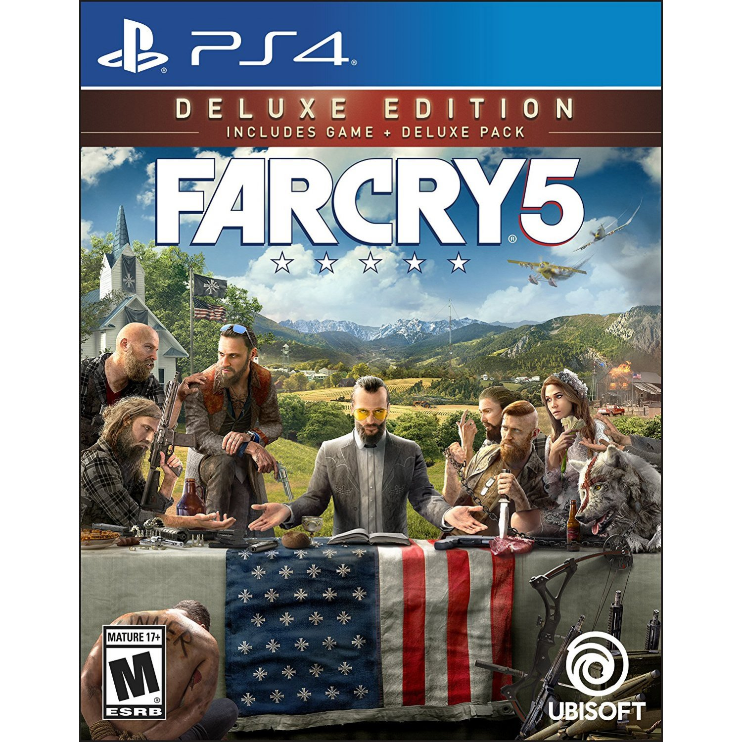 PS4: Far Cry 5 Deluxe Edition (R3)