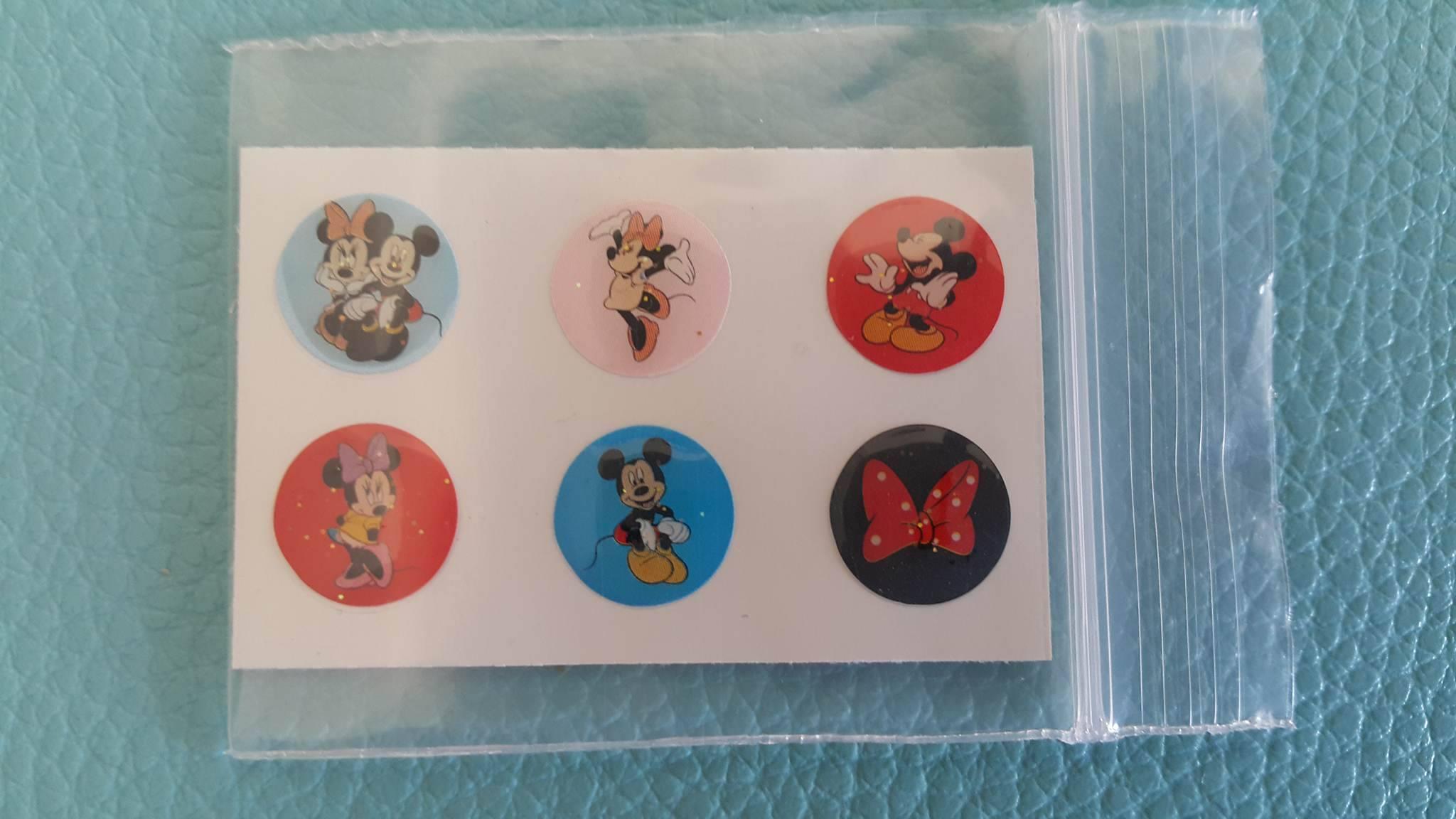 ปุ่มโฮมไอโฟน Mickey & Minnie Mouse (1 Pack/6 ชิ้น)