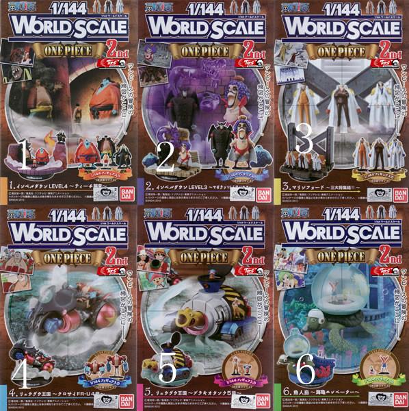 ฉากวันพีช World Scale ของแท้HK.
