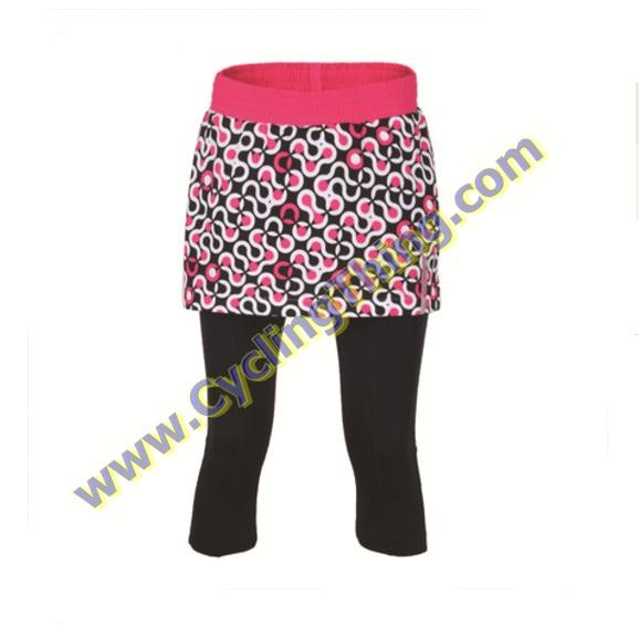 กางเกงกระโปรงปั่นจักรยานสามส่วนสำหรับผู้หญิง **พร้อมส่ง