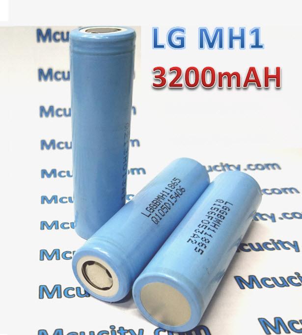 LG MH1 3200mAh 3.7V lithium battery 18650 10A (ของแท้)