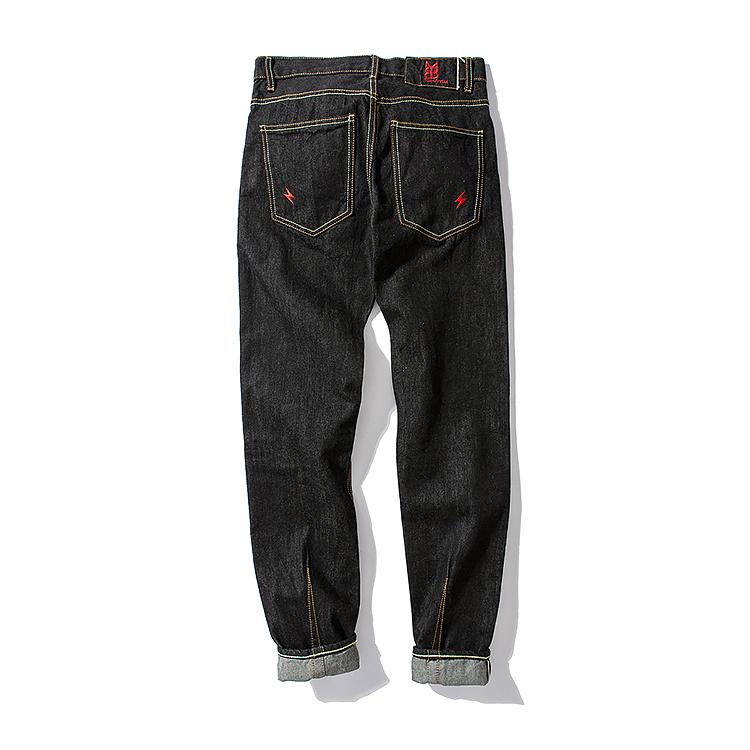 *Pre Order*Mbbcar กางเกงยีนส์ทรงกระบอก/แฟชั่นชายญี่ปุน size 27-40