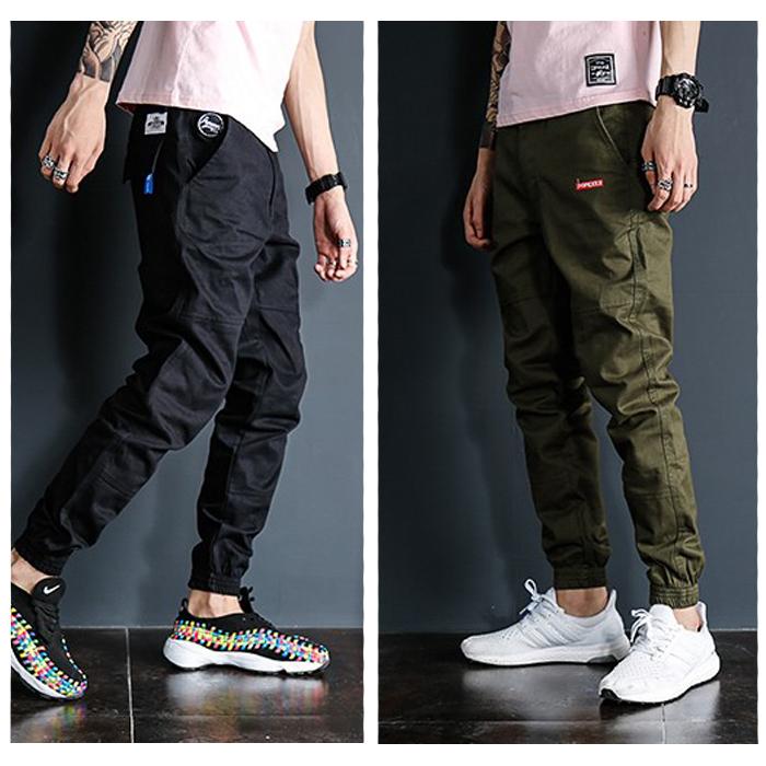 *Pre Order*Personality Japan กางเกงลำลองขาจั๊มแฟชั่นชาย/สีเขียว/สีดำ/น้ำเงิน/กากี size M-2XL