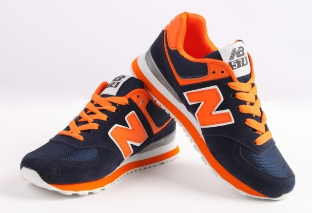 New Balance Orange And Navy