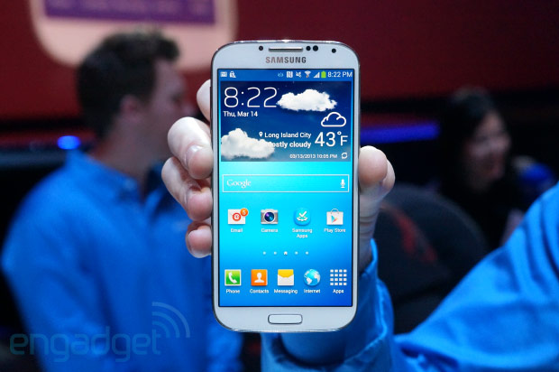 "Samsung GalaxyS4 Android 4.2 QuadCore 1:1 MTK6589 (จอCapa 5.0""นิ้ว) Air Gesture"