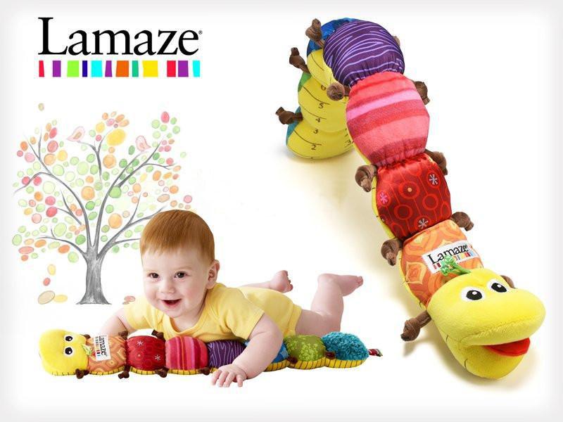 ตุ๊กตาเจ้าหนอน Lamaze เสริมพัฒนาการเด็ก