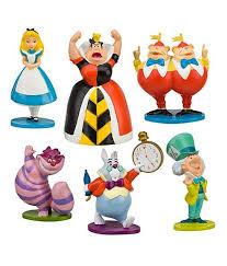 z Disney Alice in Wonderland Figure Play Set 6 Pcs ของแท้100% นำเข้าจากอเมริกา