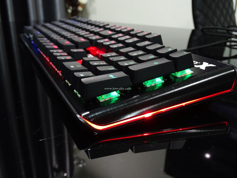 Nubwo X10 V.2 Centennial Full RGB Mechanical Blue Switch Keyboard