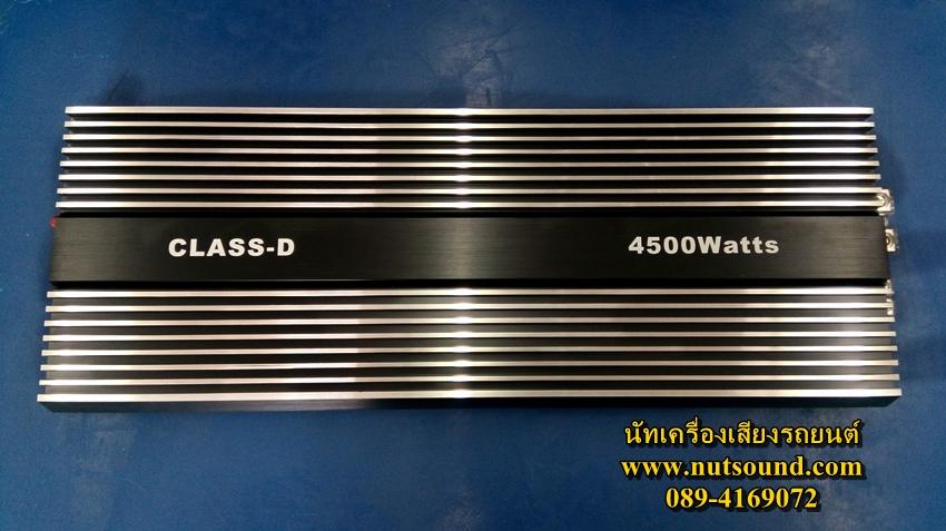 เพาเวอร์แอมป์รถยนต์ คลาสดี โมโน 4500 W