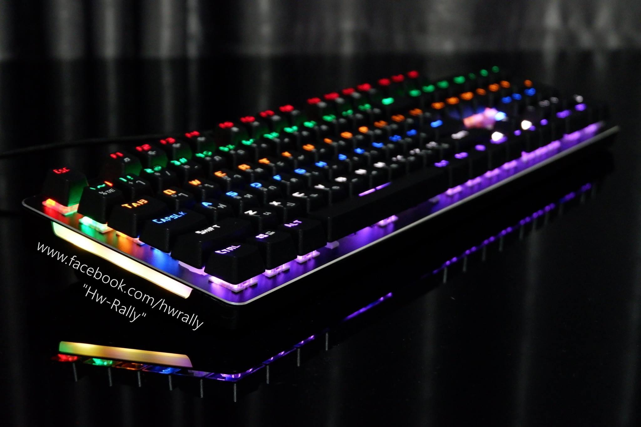 Razeak Medusa (RK-X04) Blue Switch Free !!! KeyboardPad Limited Edition