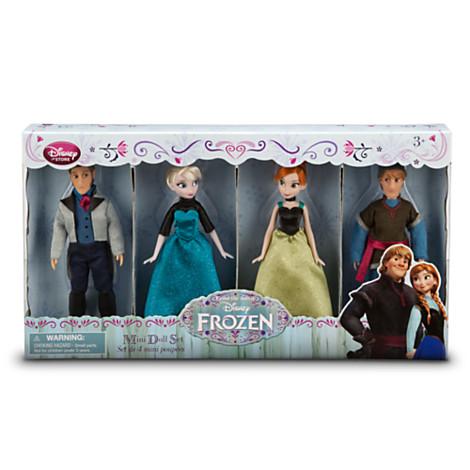 Frozen mini doll Set from Disney USA แท้100% นำเข้าจากอเมริกา สูง5.5นิ้ว