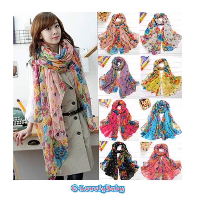 Scarves ผ้าพันคอสไตล์เกาหลี ขนาด 162*50 cm