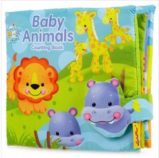 หนังสือผ้า Baby Animals Counting Book