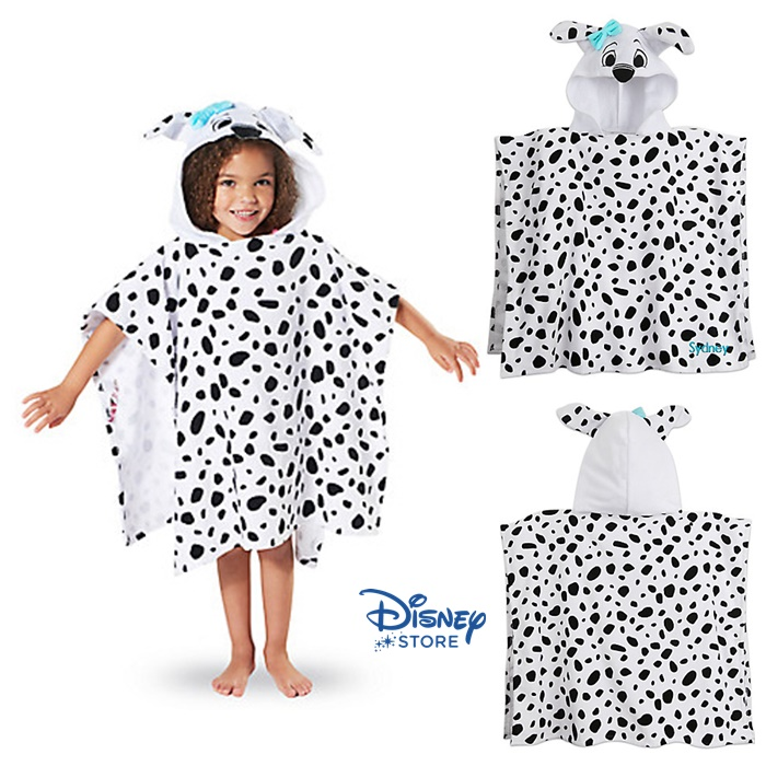 101 Dalmatians Hooded Towel for Kids from Disney USA ของแท้100% นำเข้า จากอเมริกา