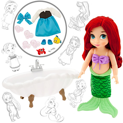z Disney Animators' Collection Ariel Doll Deluxe Gift Set - 16''