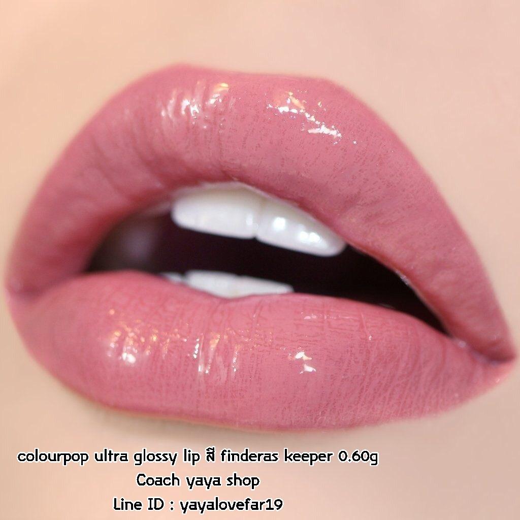***พร้อมส่งค่ะ*** colourpop ultra glossy lip สี finderas keeper 0.60g
