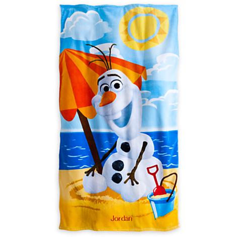 """ฮ """" Beach Towel Frozen Olaf ของแท้ นำเข้าจากอเมริกา"""