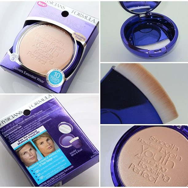 **พร้อมส่ง+ ลด 70% **physicians formula youthful wear cosmeceutical youth-boosting powder illuminating finish สี translucent