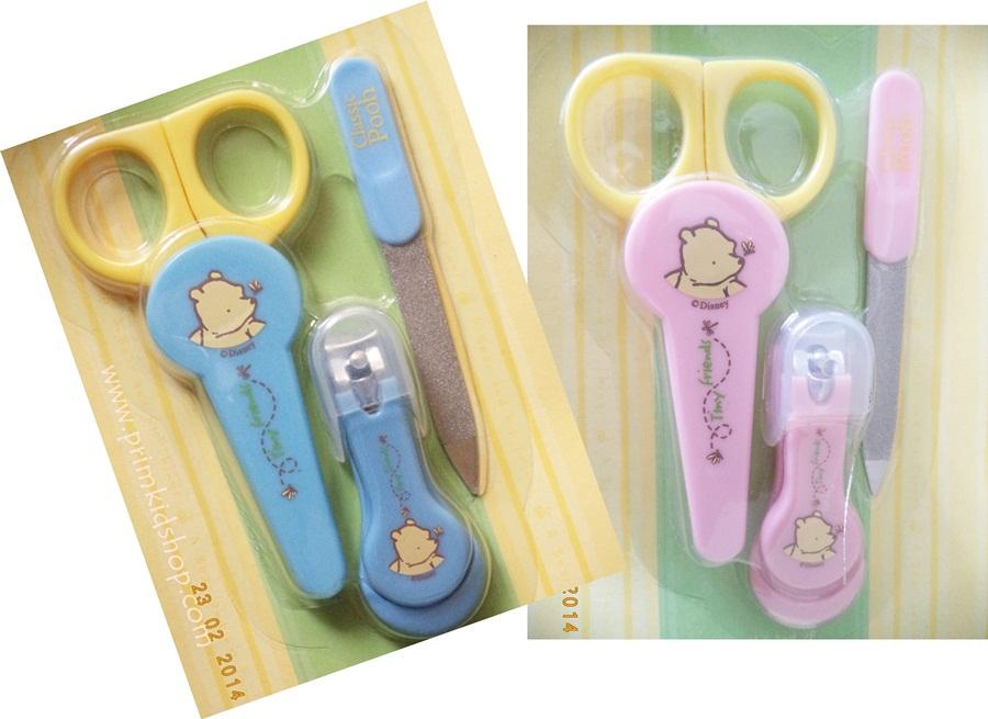 ชุดกรรไกรตัดเล็บสำหรับเด็ก Classic Pooh