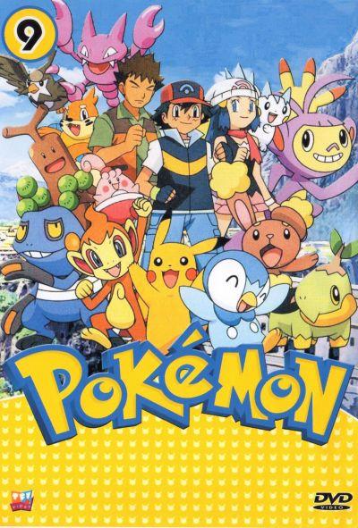 Pokemon Season 9 V2D 6 Disc พากษ์ไทย