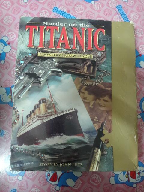 จิ๊กซอว์ 1000 ชิ้นMurde on the titanic