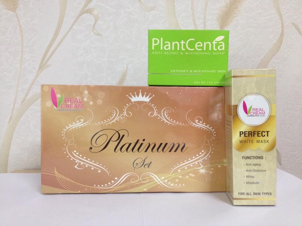 platinum set 15 กรัม เซทแพลทตินัม (ลดริ้วรอย )