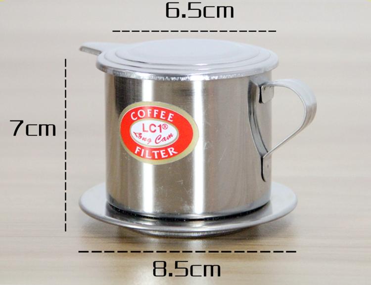 แก้วชงกาแฟเวียตนาม แก้วดริฟ Drip coffee stanless glass