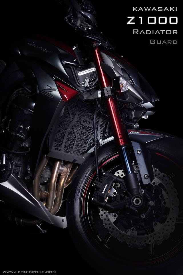 การ์ดหม้อน้ำ Leon for Kawasaki Z1000