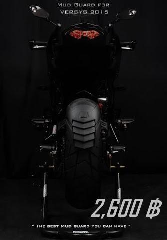 กันดีดขาคู่ Esatto model Versys650 ปี 2012-15 (Leon)