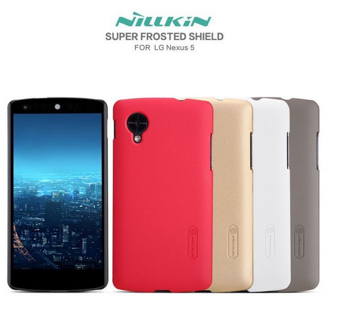 เคส LG Google Nexus 5 Nillkin ของแท้ แถมฟิล์มกันรอย Nillkin แท้ในกล่อง