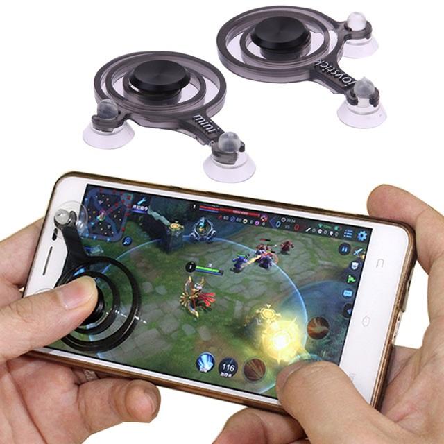 Mobile Joystick จอยเกมมือถือ เเพ็คคู่ พร้อมซองผ้า