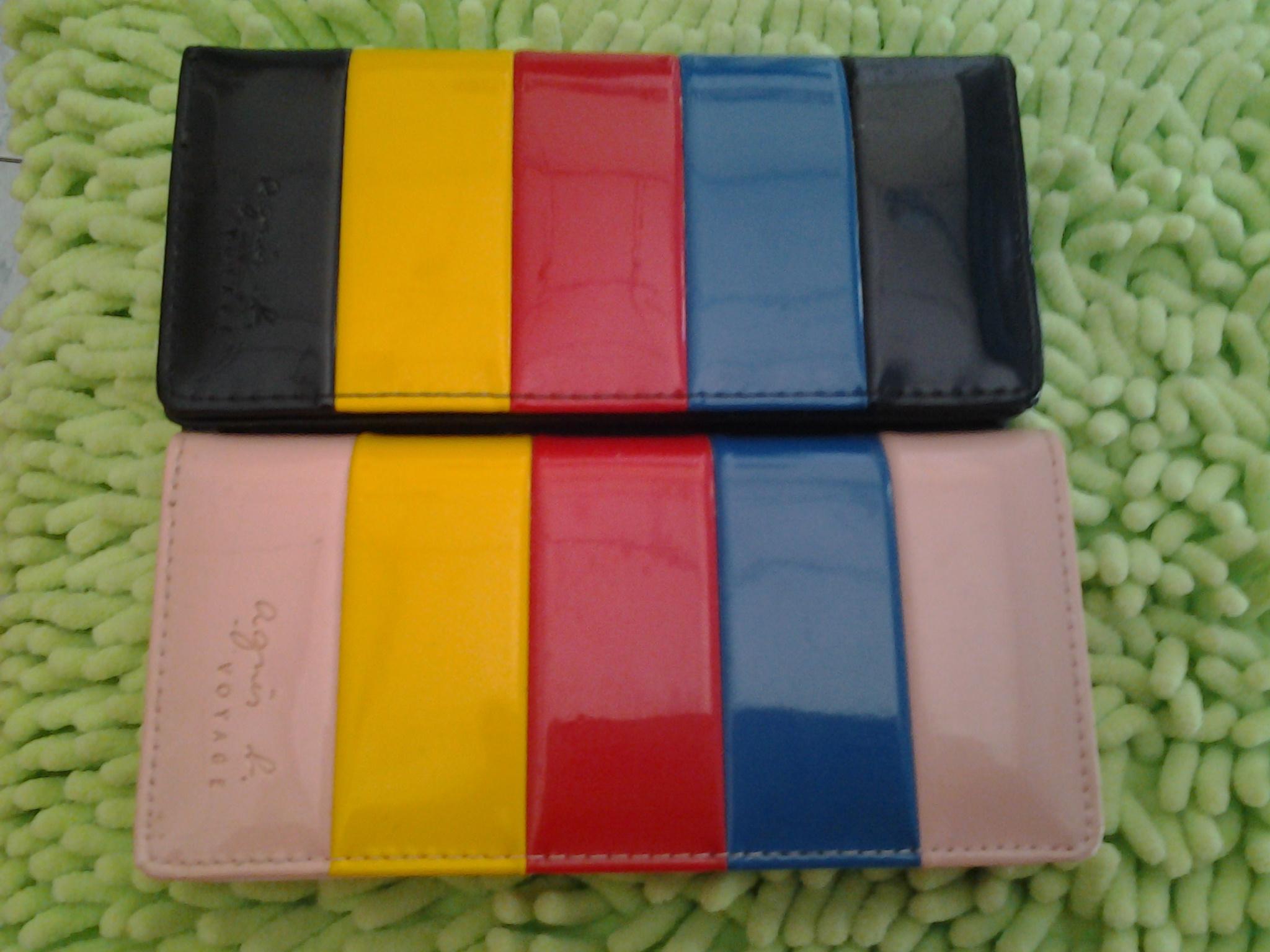 กระเป๋าสตางค์ทรงยาว/สีสันสดใส