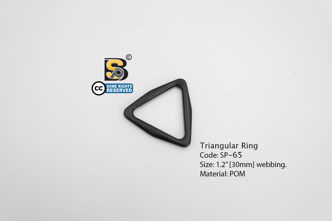 """สามเหลี่ยม 1.2"""" / Tri-Ring 1.2"""" (แข็ง)"""